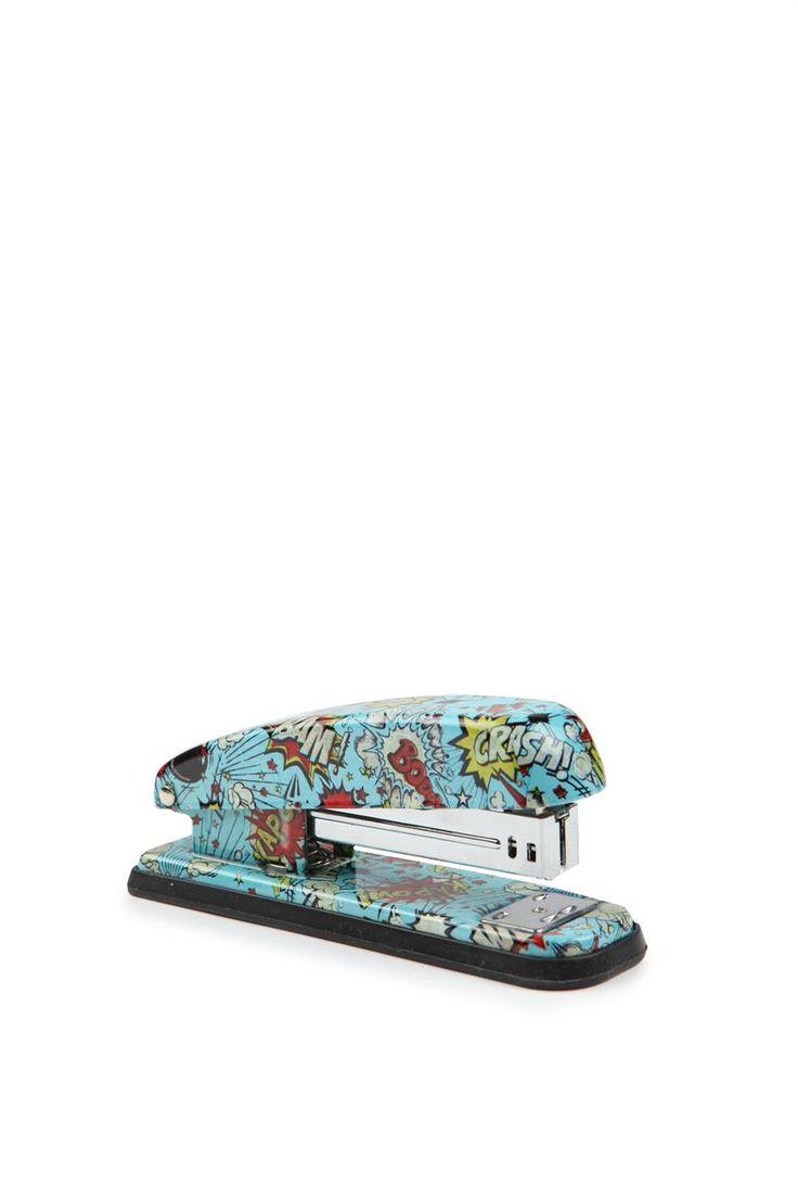 printed stapler