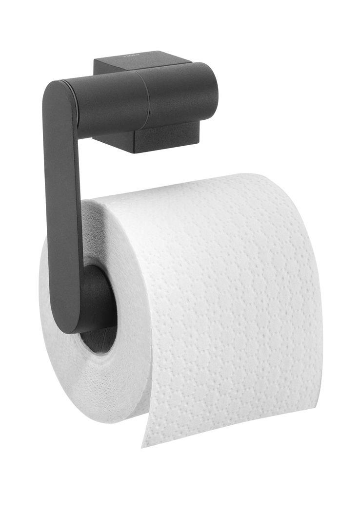 Tiger Nomad toiletrolhouder zwart