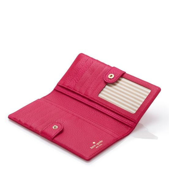 kate spade | checkbook wallets for women - cobble hill stacy