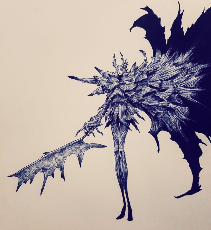 It's Dark Souls 1's birthday today, I drew (almost) all the Dark Souls Bosses - Imgur