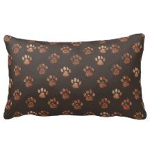 Paw Print Pillow | Design by Labradoodle Love