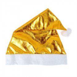 Doek van goud licht luxe kerstmutsen