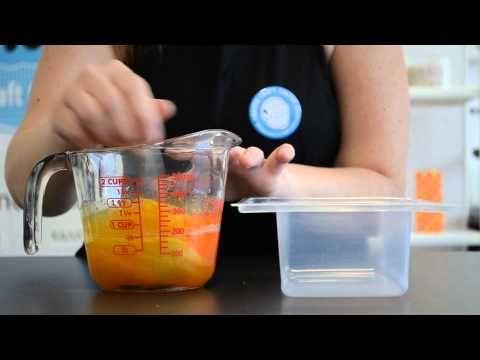 Σαπούνι γλυκερίνης: Swirling με καλοκαιρινή διάθεση! - YouTube