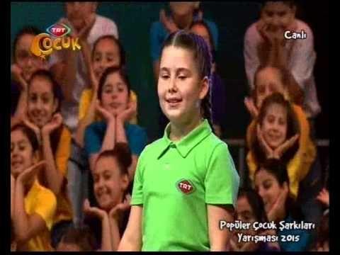 """2015 TRT Popüler Çocuk Şarkıları Yarışması'nda 2. olan Şarkı """"Tebessüm"""" - YouTube"""