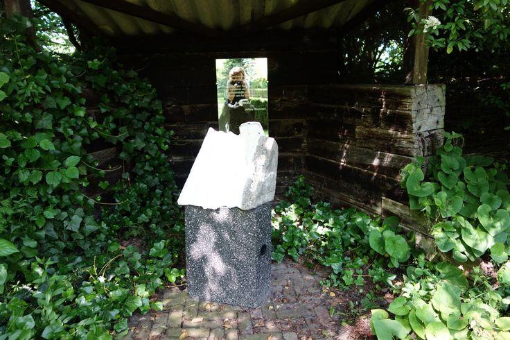 #AndersKijken 3 #reflectie #kunst in de Zeeuwse Rozentuin
