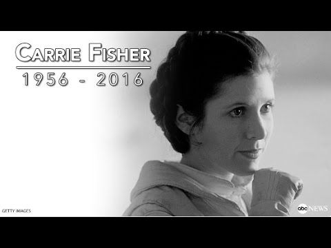 Carrie Fisher Dies at 60 | Remembering the Star Wars Princess