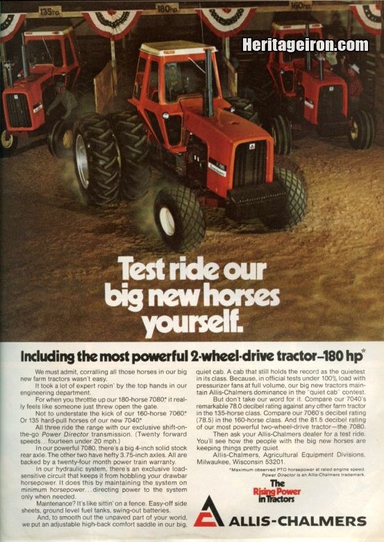 May 1975 issue of Successful Farming magazine. #HeritageIron #MuscleTractor