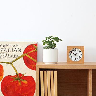 瀬戸焼の鉢 ガーデンポリシャス 2号 白 | 無印良品ネットストア