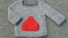Strik Sigurds trøje   Femina