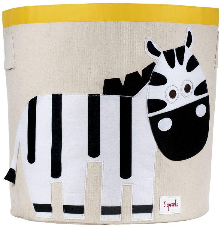 3SPROUTS-Cesto Zebra – RocketBaby.it