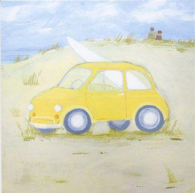 'Fiat 500' by Hannah Cole (B036)