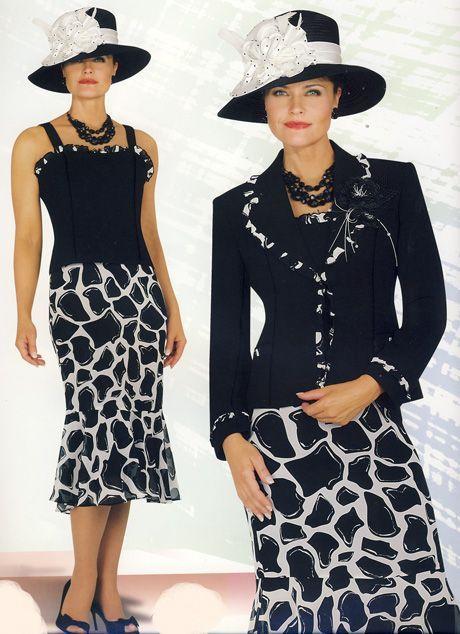 ebony ladies dress suits | chancelle suits 11941 suits for women sizes 1 2 14