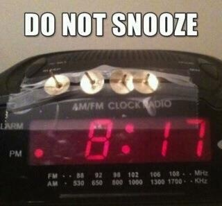 I'm making this for my husband...Ideas, Snooze Buttons, Beds, Laugh, Mornings Personalized, Alarm Clocks, Funny Stuff, Humor, Sleep