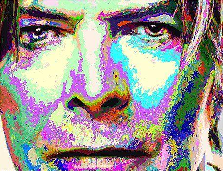 Samuel Majcen - David Bowie - Colorful