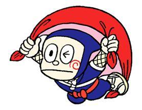 Free NINJA HATTORI-KUN Line Sticker - http://www.line-stickers.com/ninja-hattori-kun/