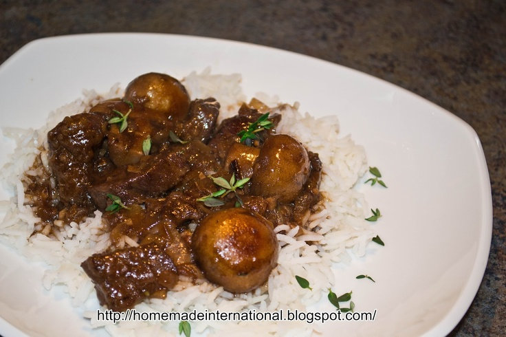 Southern Beef Stew with Mushrooms | Main Dishes | Pinterest