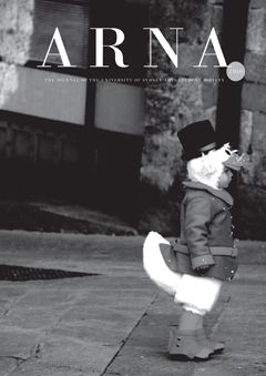 """ARNA 2010. The Journal of the University of Sydney Arts Students Society    """"Do not be fooled, if we write we are writers. Simple as that. Our styles, purposes and viewpoints may be different but we are all writers. We do not need qualifications, we simply need a story to tell.""""     A new edition of ARNA reflecting the modern Arts student - eclectic and hard to pinpoint. Enjoy it."""