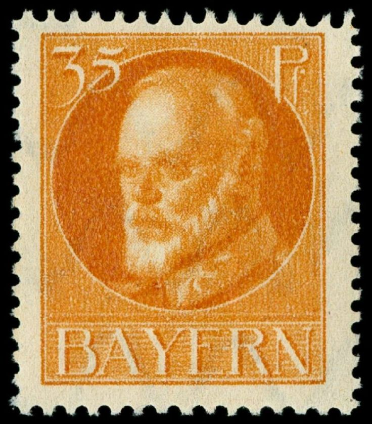 Old German States Bavaria Michel. No. 134 A I / A mint never hinged, in perfect condition, expertized Dr. Helbig, not verausgabter value, Michel 250,- Euro  Lot condition **  Dealer Schwanke GmbH  Auction Starting Price: 100.00 EURMichel. No. 134 A I / A mint never hinged, in perfect condition, expertized Dr. Helbig, not verausgabter value, Michel 250,- Euro  Lot condi...