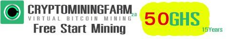 Free Bitcoin Only 4 U : Cryptomining Farm Review FREE 50 GHS
