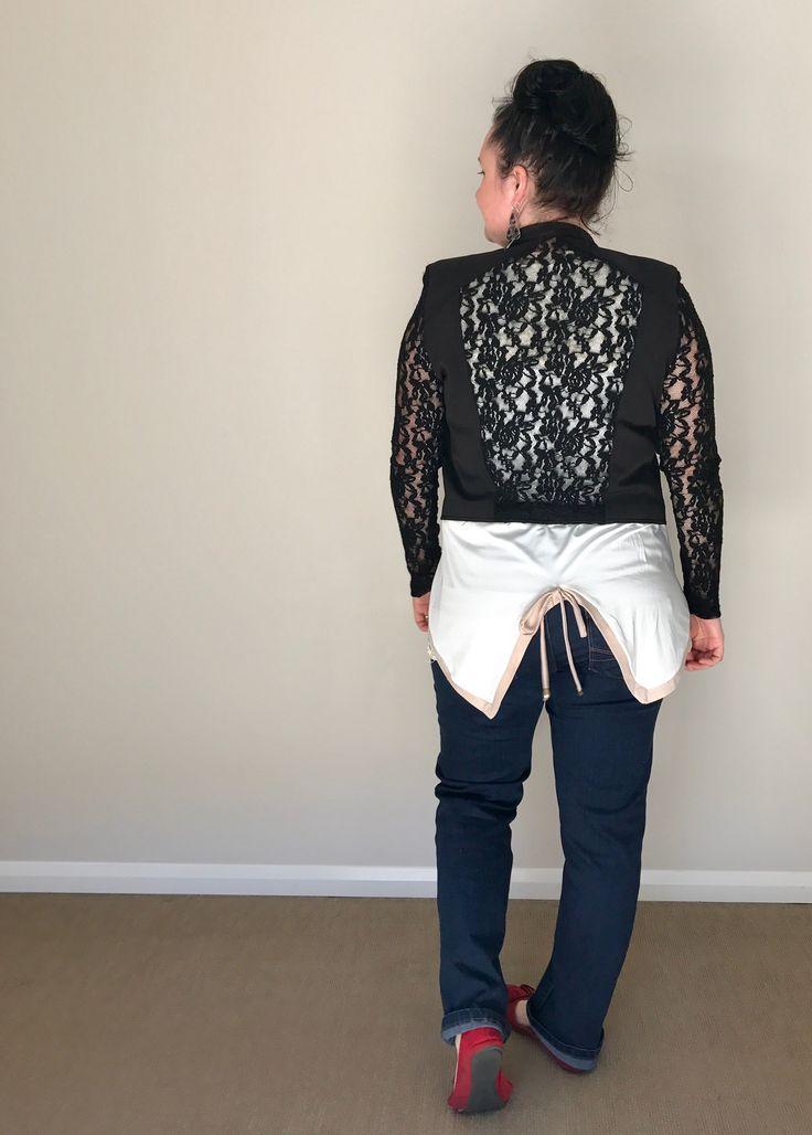 Black Caviar Jacket, Lace Jacket, Leisurewear, Womenswear, Funky, Elegant