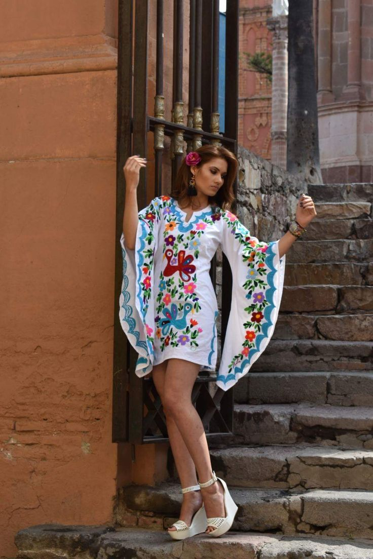 Mexican Dress handembroidered