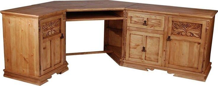 Mexico Eck-Schreibtisch von MiaMöbel