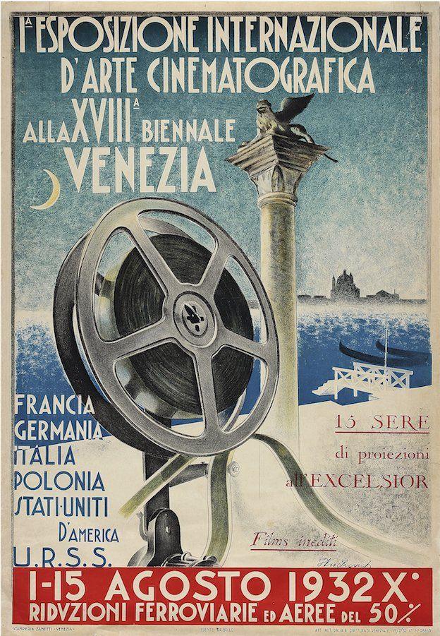 I'Esposizione Internazionale d'Arte Cinematografica, Biennale di Venezia, 1932
