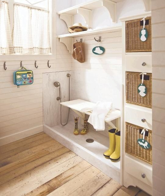 boot shower | Boot Room | Home, Home upgrades, Simple house