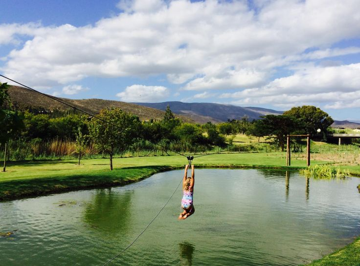 The bottom dam is a child's dream. With a large jungle gym and a zipline over the dam, endless fun can be had.