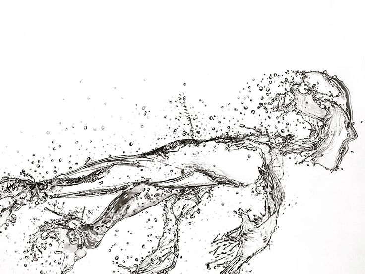 Illusion: Chinese artist Paul Shanghai can be drawing for 60 hours or more to perfect the look of flowing water, which is quite difficult to achieve due to the movement and transparency of this liquid.His artwork is composed on smooth paper that has a Bristol board kind of surface, and he uses various materials depending on.... http://illusion.scene360.com/art/49371/the-beauty-of-liquid/