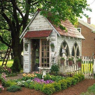 chapel garden house