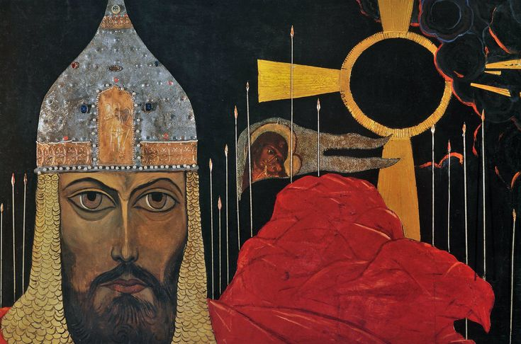 Prince Igor. Ilya Glazunov Art