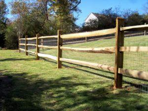 Horse Paddock Fencing Materials