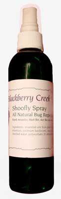 Shoo Fly All Natural Deer Fly  Repellent Spray