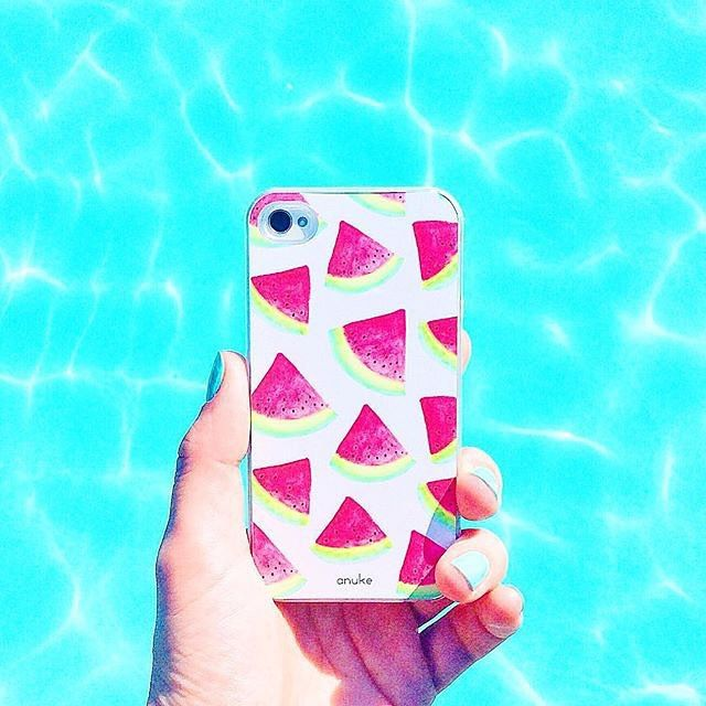 H2Omelon iPhone case and Samsung S4 S5 case. #iphonecase #samsungcase #watermelonphonecase #anukedesign