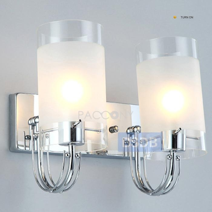 Contemporary Frosted Wall Lights with Chrome Bracket (2 Lights) on http://www.paccony.com/product/Contemporary-Frosted-Wall-Lights-with-Chrome-Bracket-2-Lights-18655.html
