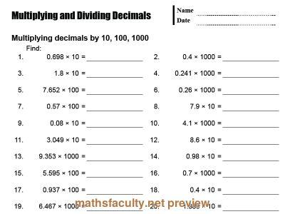 math worksheet : 388 best maths  decimals images on pinterest  5th grade math  : Multiplying And Dividing Decimals Worksheets
