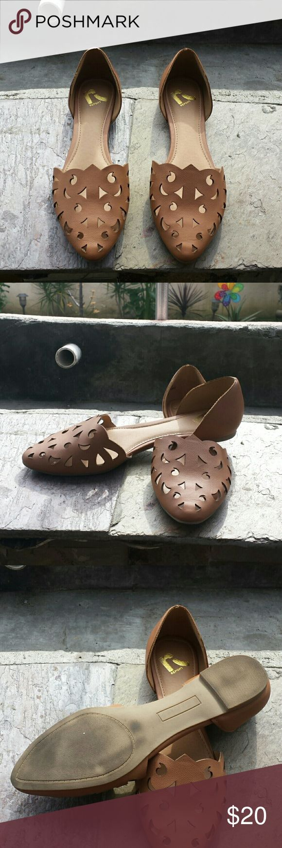 Report flats Only worn once in great condition Report Shoes Flats & Loafers