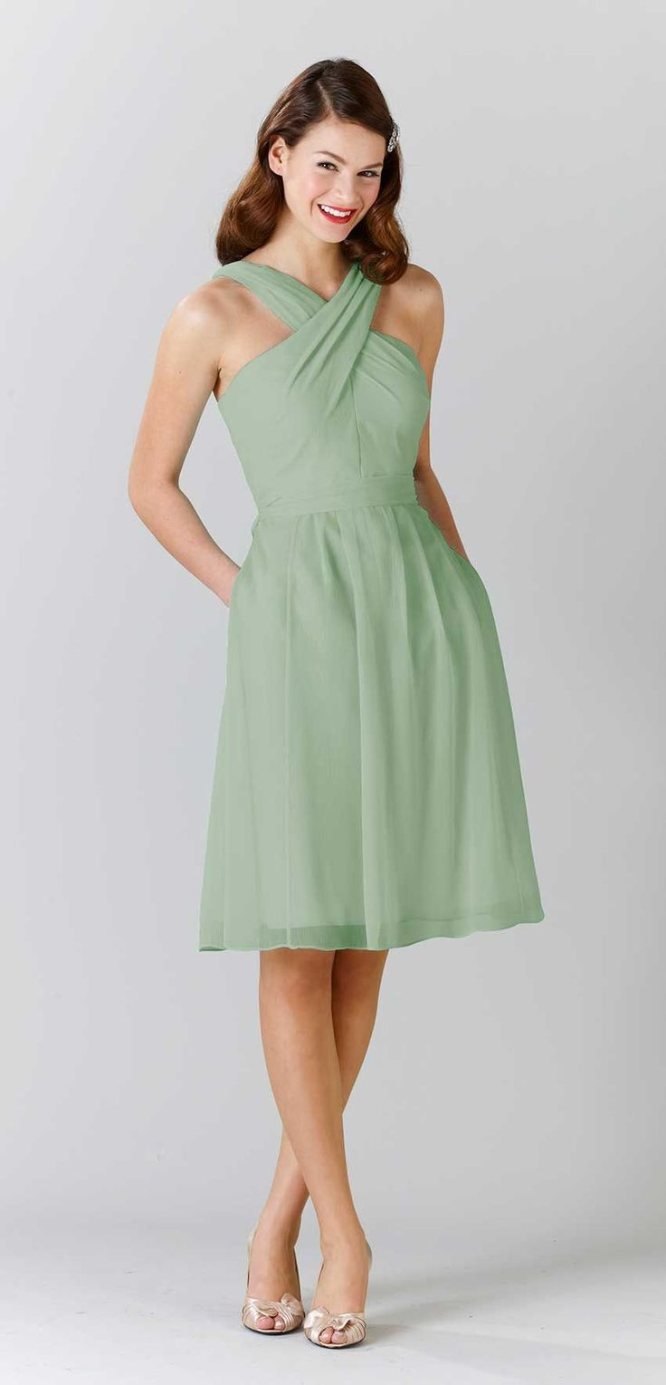 Wedding Sage Green Dress 17 best ideas about sage green dress on pinterest a stunning with straps and criss cross neckline featured in green