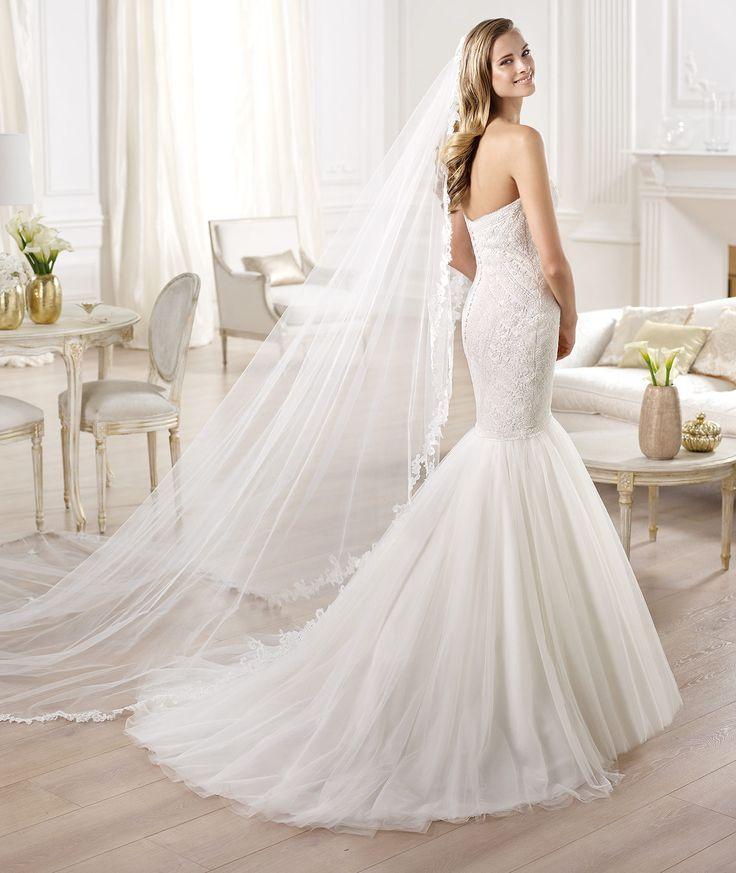As 74 melhores imagens em mermaid wedding gowns no pinterest onega wedding dress 2014 junglespirit Gallery