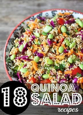 RateYourBurn | 18 Best Quinoa Salad Recipes on the Interwebs.