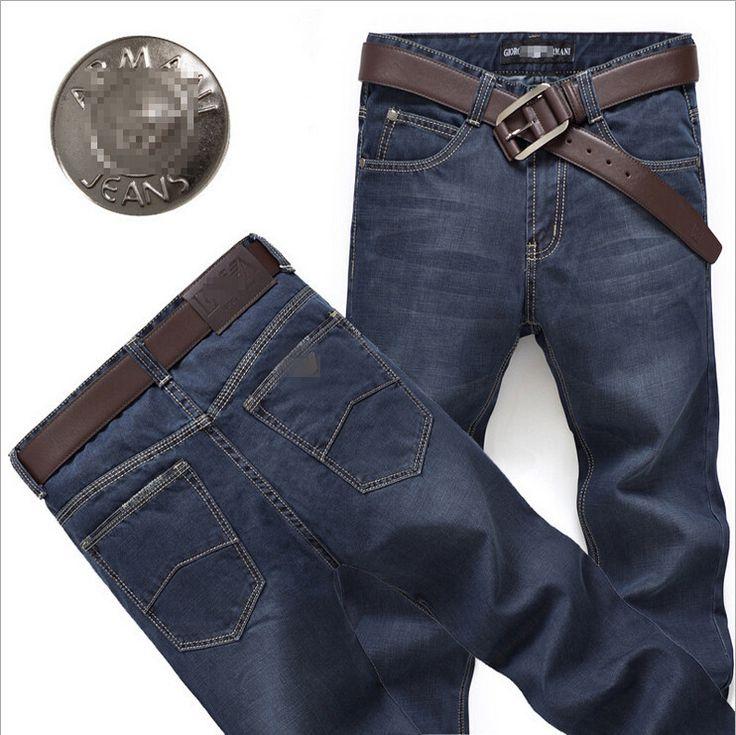 Узкие мужские джинсы, Деним джинсы мужчины, Мужчины в большие размер дизайнерские джинсы, Мужчины джинсы марка брюки, Размер : 28 - 42