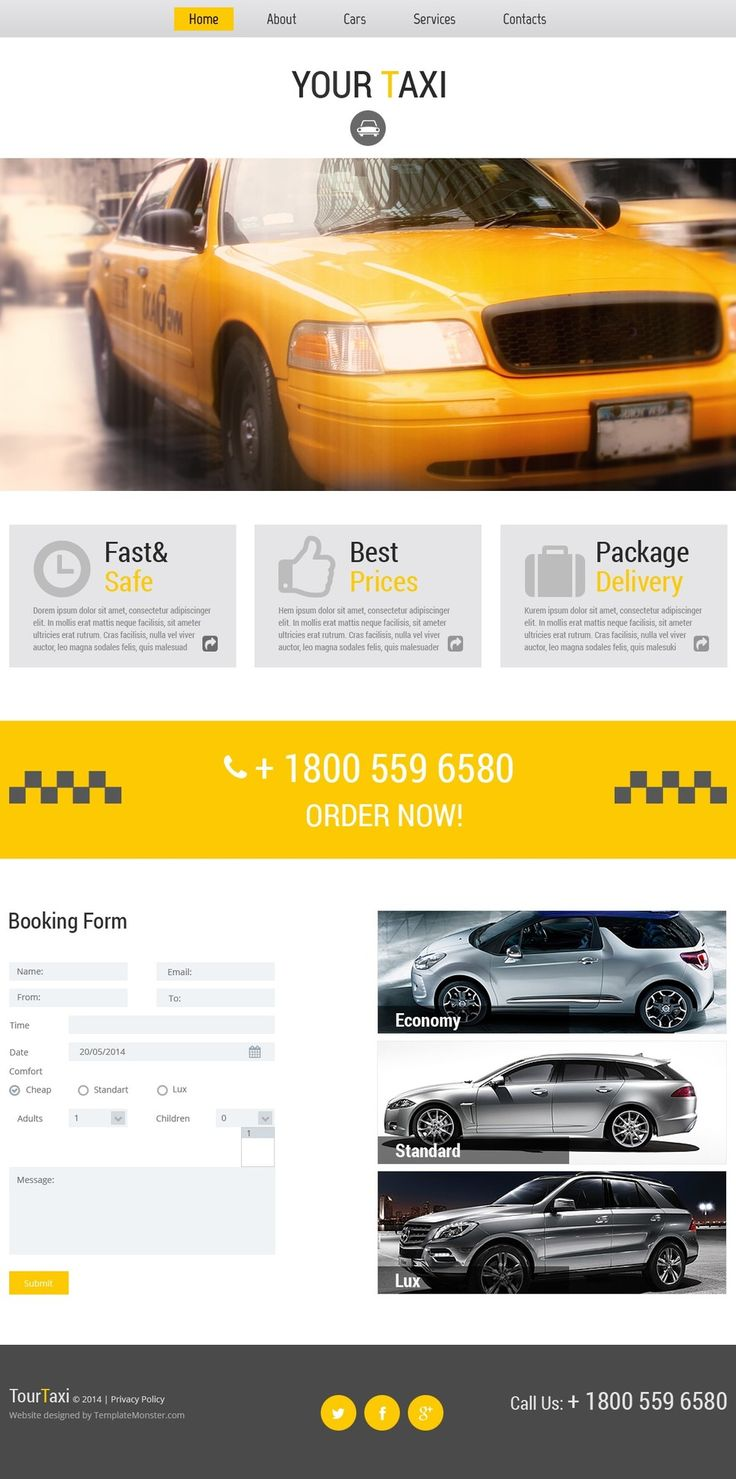 #Free #WebsiteTemplate for Online Taxi Service  http://www.freetemplatesonline.com/templates/Free-Website-Template-For-Online-Taxi-Service-542.html