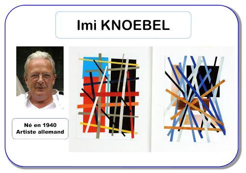 RECULL DE PROPOSTES PLÀSTIQUES DE DIFERENTS ARTISTES Imi Knoebel - Portrait d'artiste