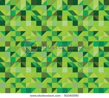 mønster grønt