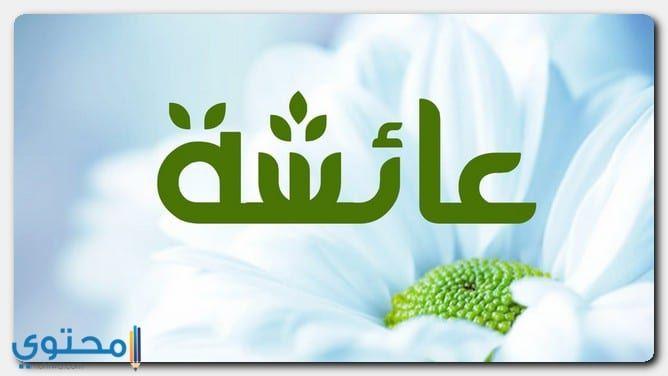 معنى اسم عائشة وصفاتها الشخصية Aisha معاني الاسماء Aicha Aisha Vimeo Logo Ilustrasi Mario Characters