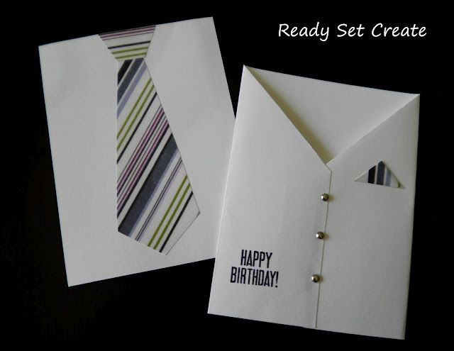 cute card for father's day  - easily made by family members.