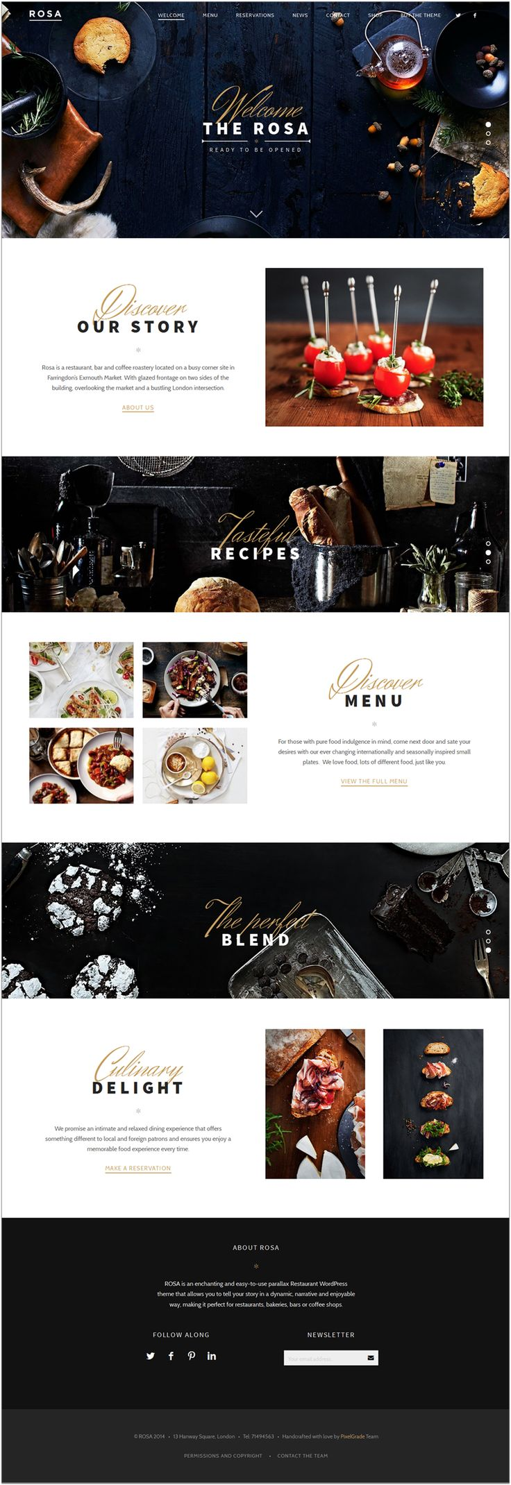 Rosa, beautiful WP parallax theme more on http://themeforest.net/?ref=Vision7Studio