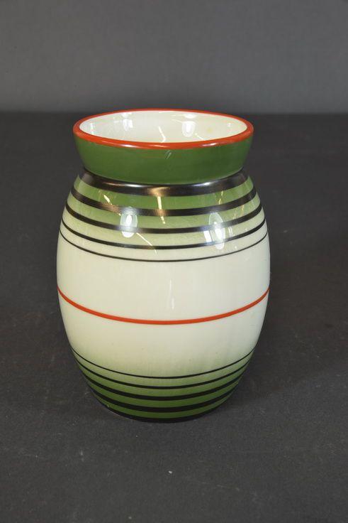 Porsgrund Porcelain Vase Model by Nora Gulbrandsen  H:13.5cm.