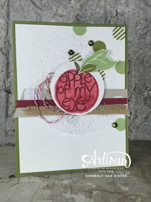 Apple of My Eye, Stampin' Up! - StampinByTheSea.com